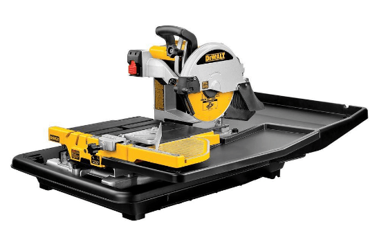 dewalt d24000 wet tile saw review