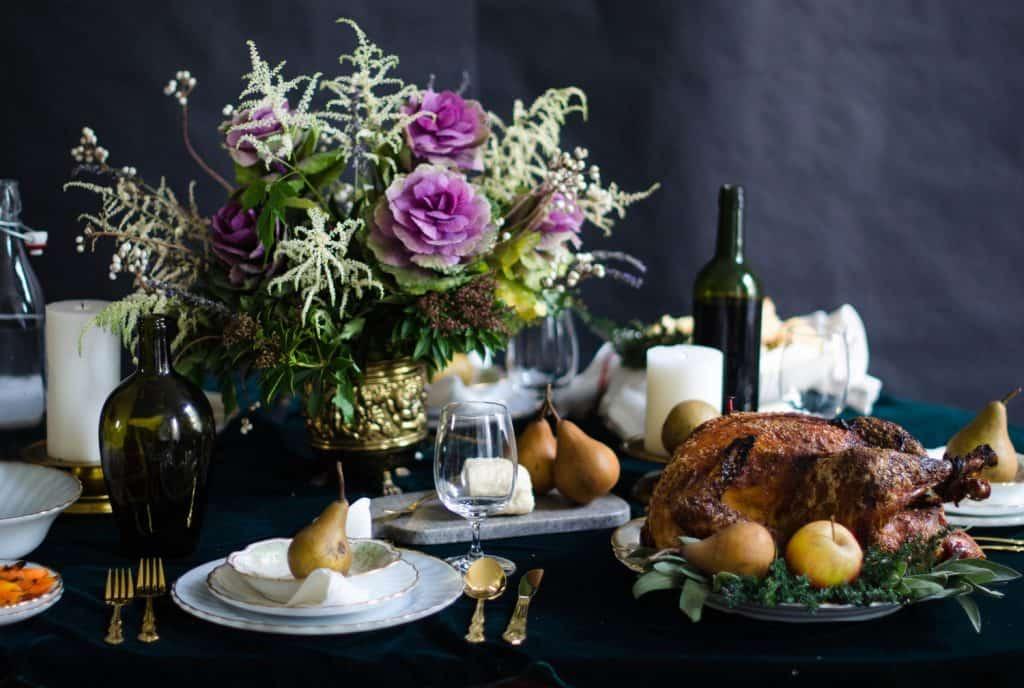 thankgiving table decorations diy
