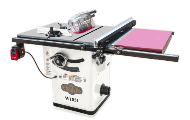 Best hybrid table saw reviews 2018 edition cabinet to allow for the adjustability of the table and fence this ensures they are in absolute parallel to the blade for an easier and precise cut greentooth Gallery