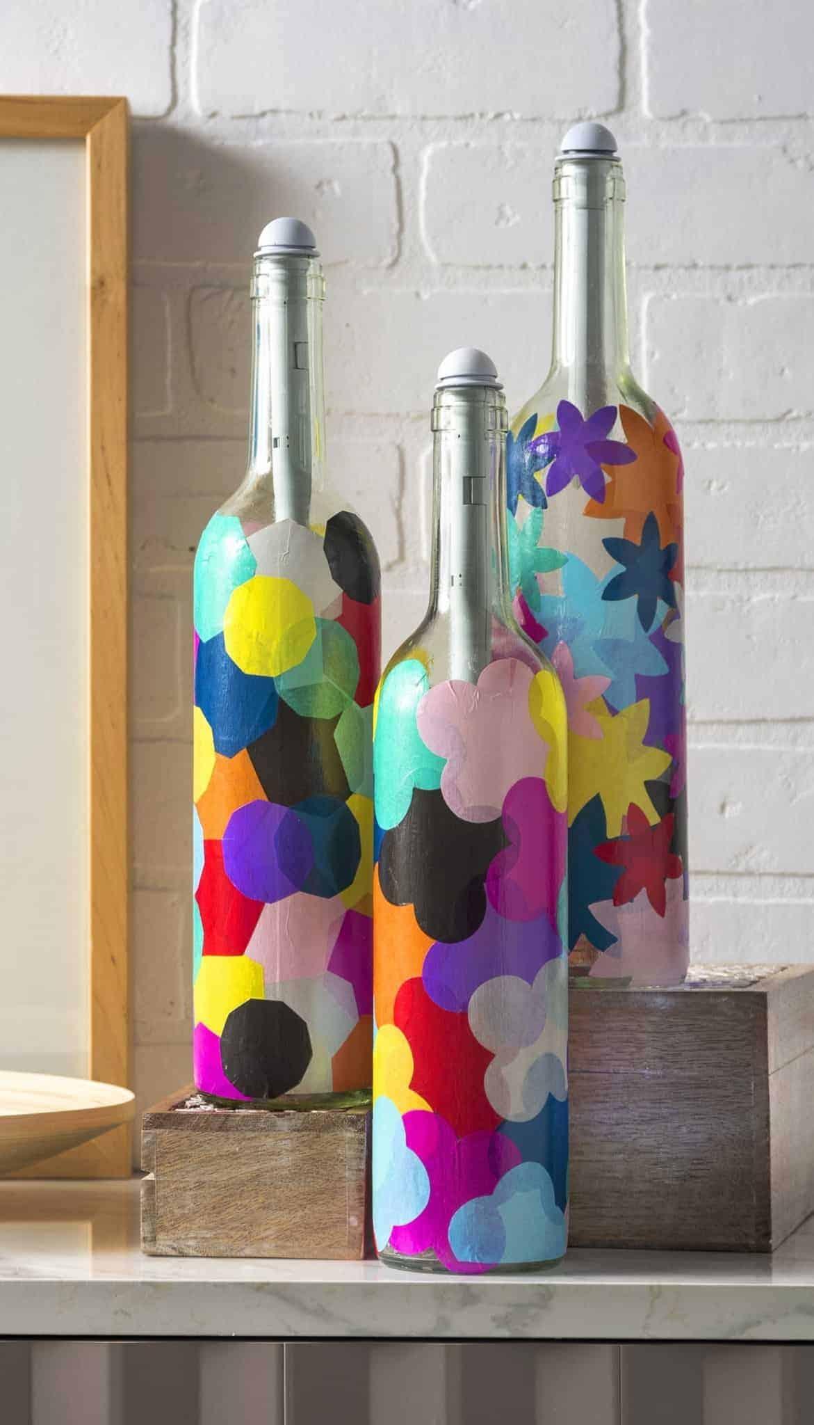 Eclectic Bottle Lights 50 Beautiful Wine Bottle