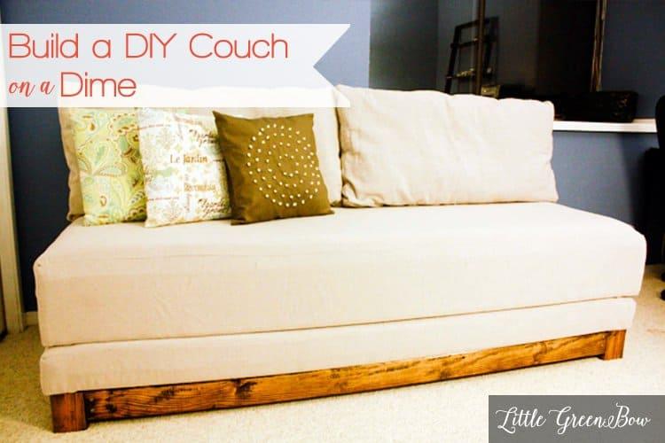 50 Ravishing DIY Sofa Plans [Sectional, Outdoor, Pallet ...