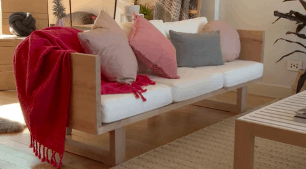 Modern DIY Timber Sofa Lounge