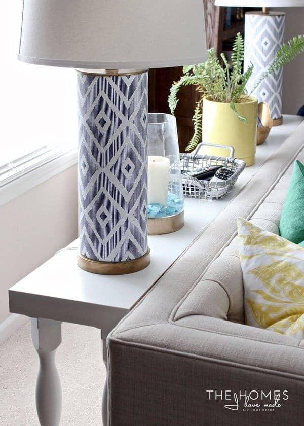 10-Minute Sofa Table Tutorial