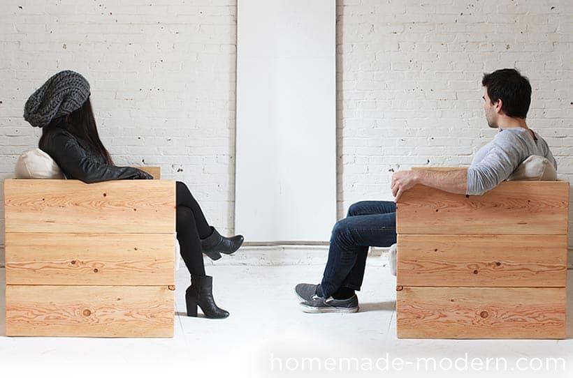 Casual Modern DIY Box Sofa