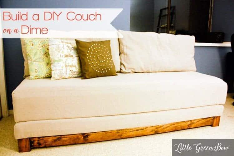Classic DIY Sofa Bed cum Couch