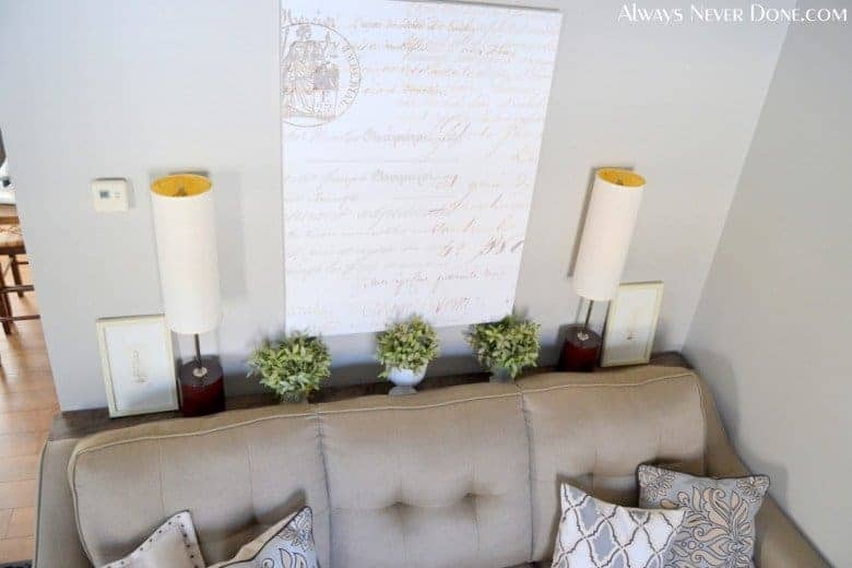 DIY $25 Sofa Table Plan