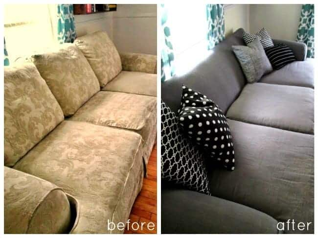 DIY Soft Couch with Painters