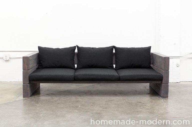 DIY Solid Wood Outdoor Sofa
