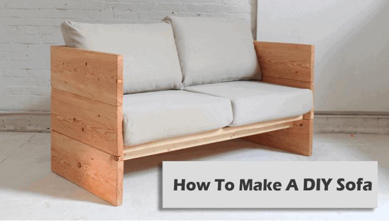 DIY Wooden Posh Sofa
