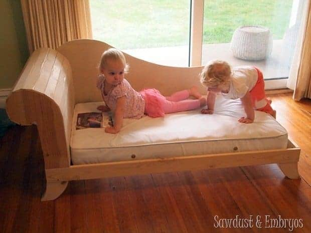 Fainting Couch DayDream Toddler Sofa