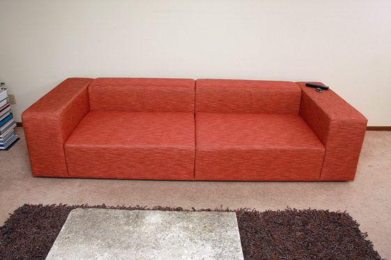 Modern DIY Sofa by Eric Dalpiaz