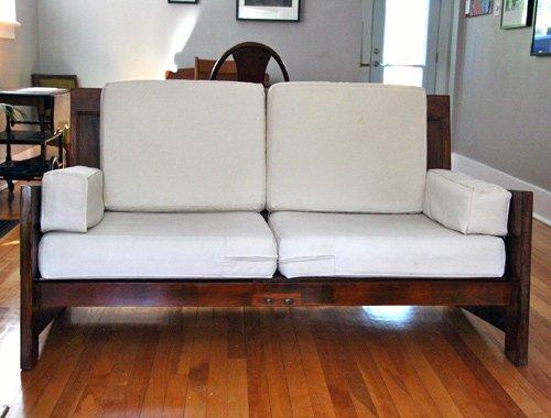 Old Door Exquisite Sofa Plan