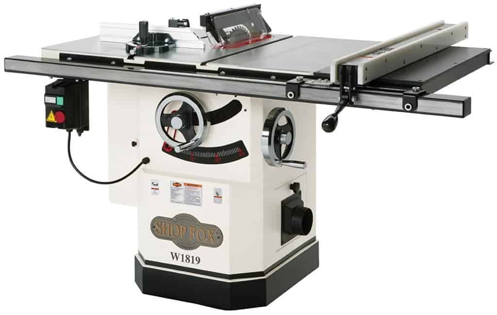 Best hybrid table saw reviews september 2018 pro tool guide click greentooth Gallery