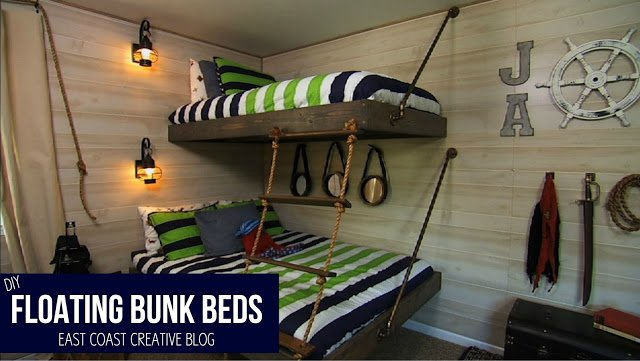 The Classic Floating Bunk Beds