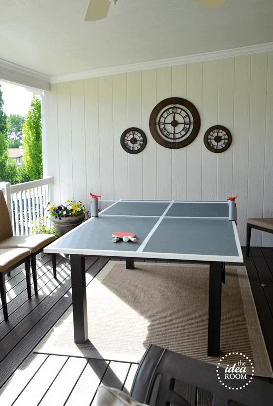 Chalkboard/Ping Pong Table Blueprint