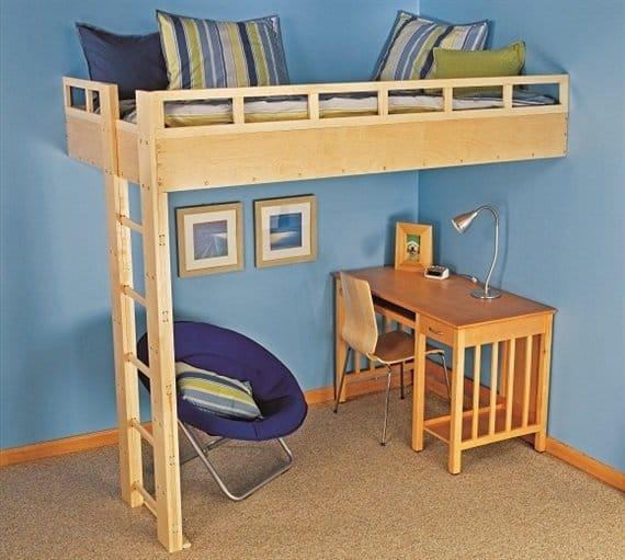 68 Amazing DIY Bunk Bed Plans