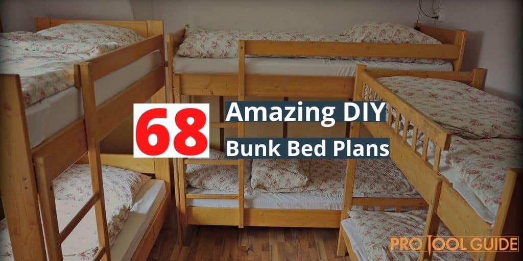 Amazing DIY Bunk Bed Plans