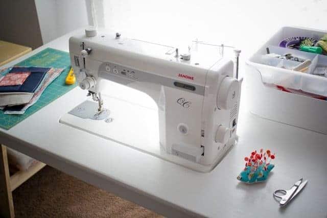 DIY IKEA Sewing Table