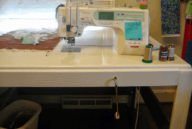 Free Motion Quilting Table
