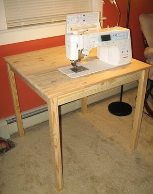 The Easy-make Sewing Desk Plan