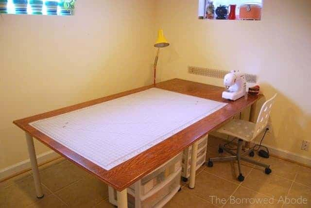 The Large Brown Sewing Table Plan