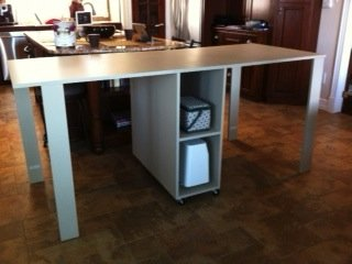 The Piano Hinge 36 Inch High Sewing Table Idea