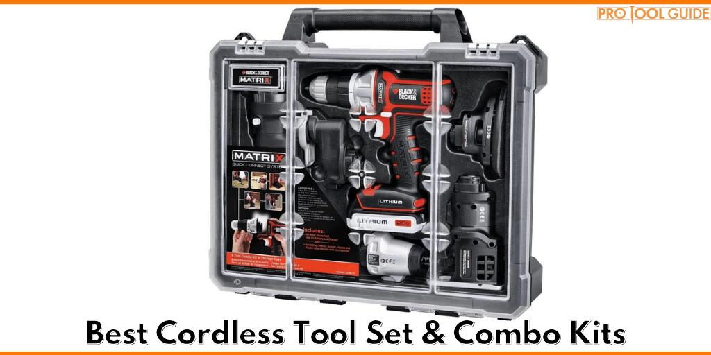 Best Cordless Tool Set & Combo Kits