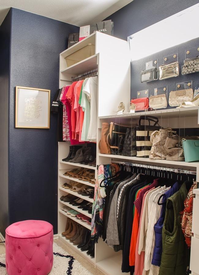 20 Creative DIY Closet Organizer Plans & Ideas