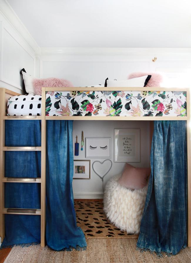 Dorm Room Loft Beds: 11 Impressive DIY Loft Bed Plans & Ideas