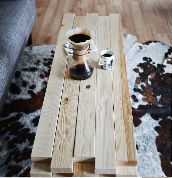 diy coffee tables plans