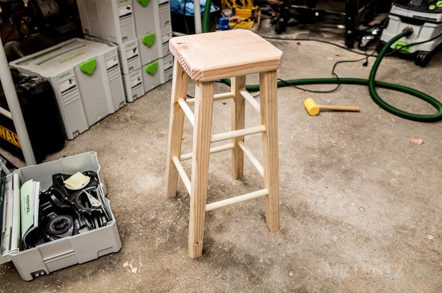 diy bar stool plans