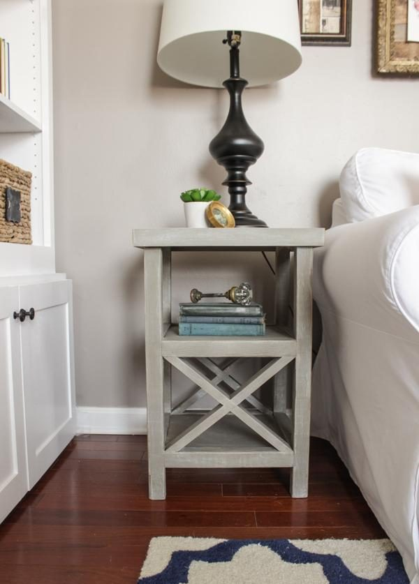 diy nightstand plans