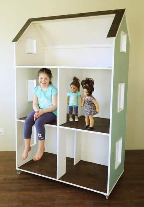 DIY American Girl Dollhouse
