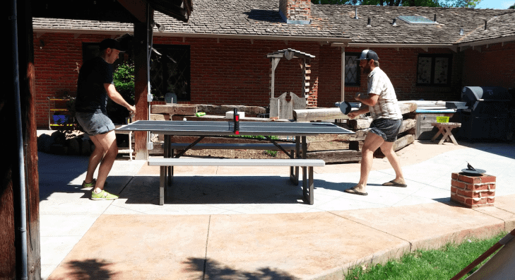 Cheap and Simple Ping Pong Table Idea
