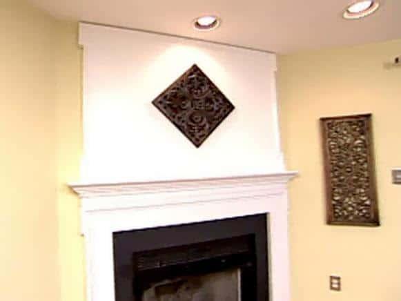DIY Fireplace Mantel Extension