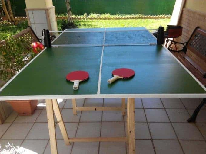 Folding Ping-Pong Table Idea