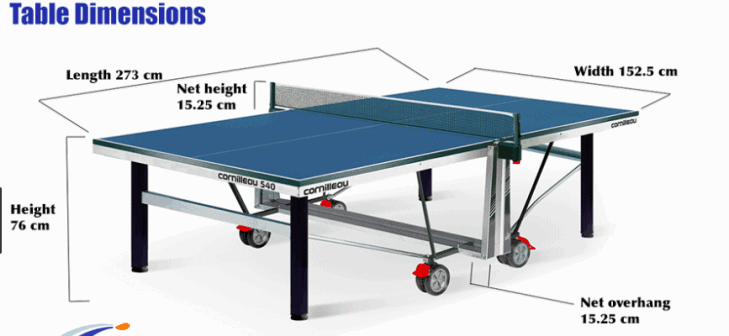 Regulation Size DIY Ping Pong Table