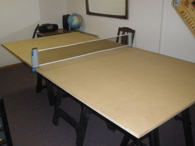 Simple Ping Pong Table DIY Plan