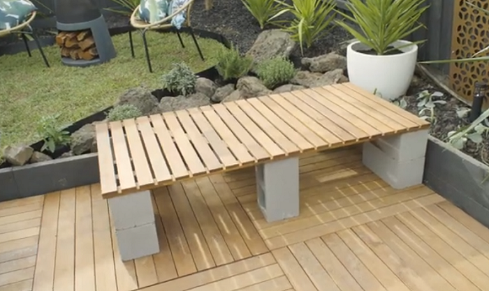 A Simple Timber Bench
