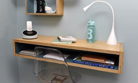 Cuboidal DIY Corner Desk Plans