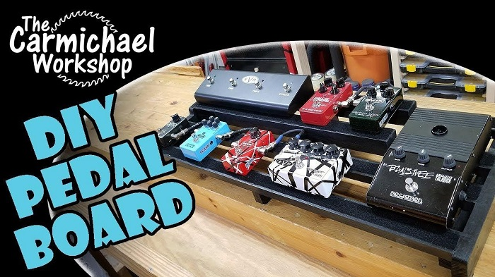 DIY Custom Guitar Effects Pedalboard Plan