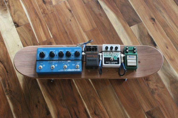 DIY Skateboard Pedalboard Plan
