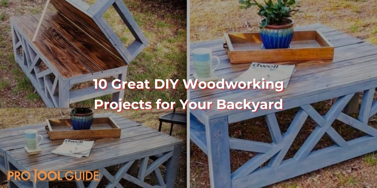 DIY Woodworking Projects for Your Backyard
