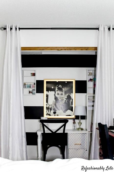File Cabinet DIY Corner Desk Plans