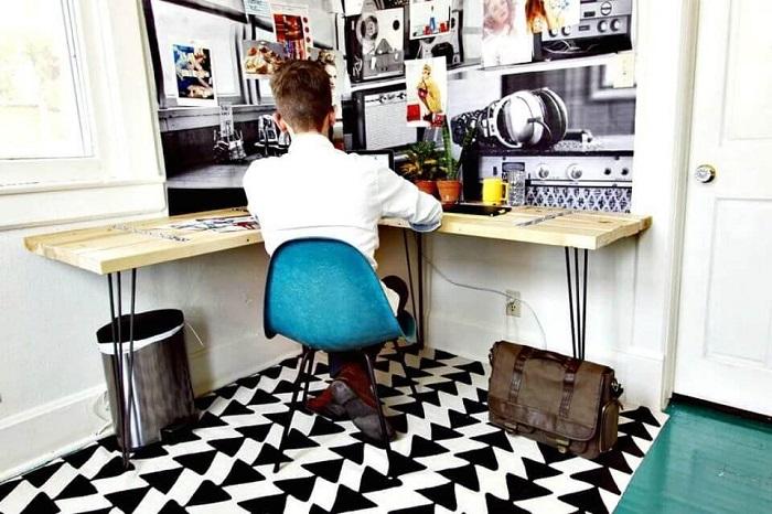 Framing Wood DIY Corner Desk Plans