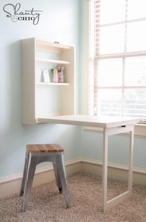 Murphy DIY Corner Desk Plans