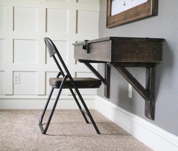 Storage-centric DIY Corner Desk Plans