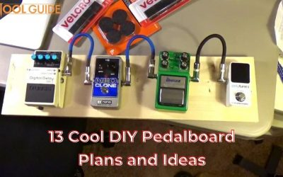 13 Cool DIY Pedalboard Plans and Ideas