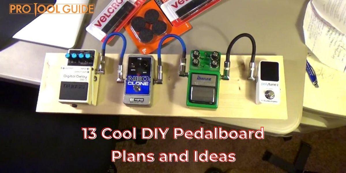 diy pedalboard plans