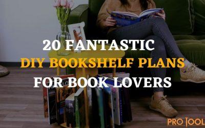 20 Fantastic DIY Bookshelf Plans for Book Lovers